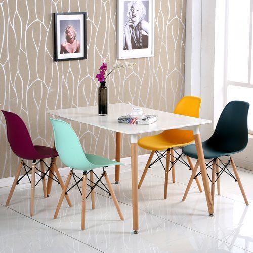 bộ bàn ăn 4 ghế eames