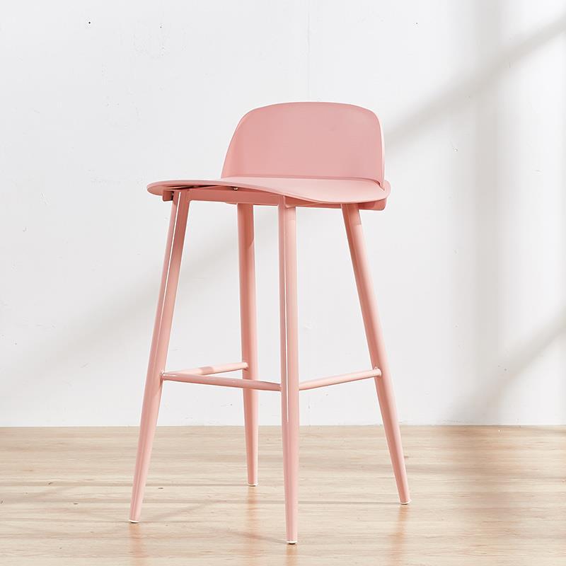 Ghế bar nerd B-03 là sự kết hợp giữa 3 chất liệu sắt sơn tĩnh điện , mặt gỗgiúp tăng thêm dáng vẻ sangtrọng và cao cấp cho ghế.
