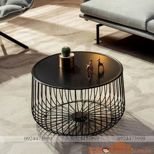 Bàn sofa tròn hiện đại Toci BTS-19