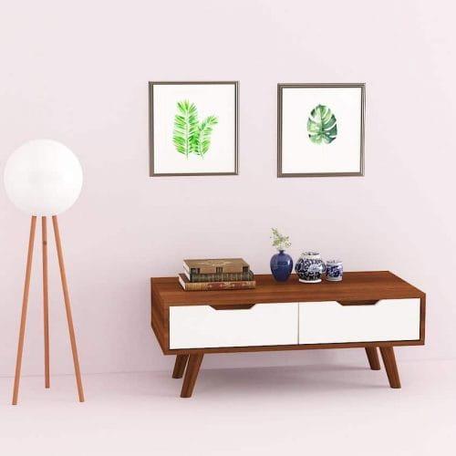 bàn trà gỗ btg-18 kho nội thất sài gòn