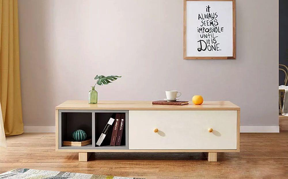 bàn trà gỗ btg-21 kho nội thất sài gòn