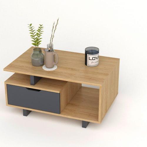 bàn trà gỗ btg-23 kho nội thất sài gòn