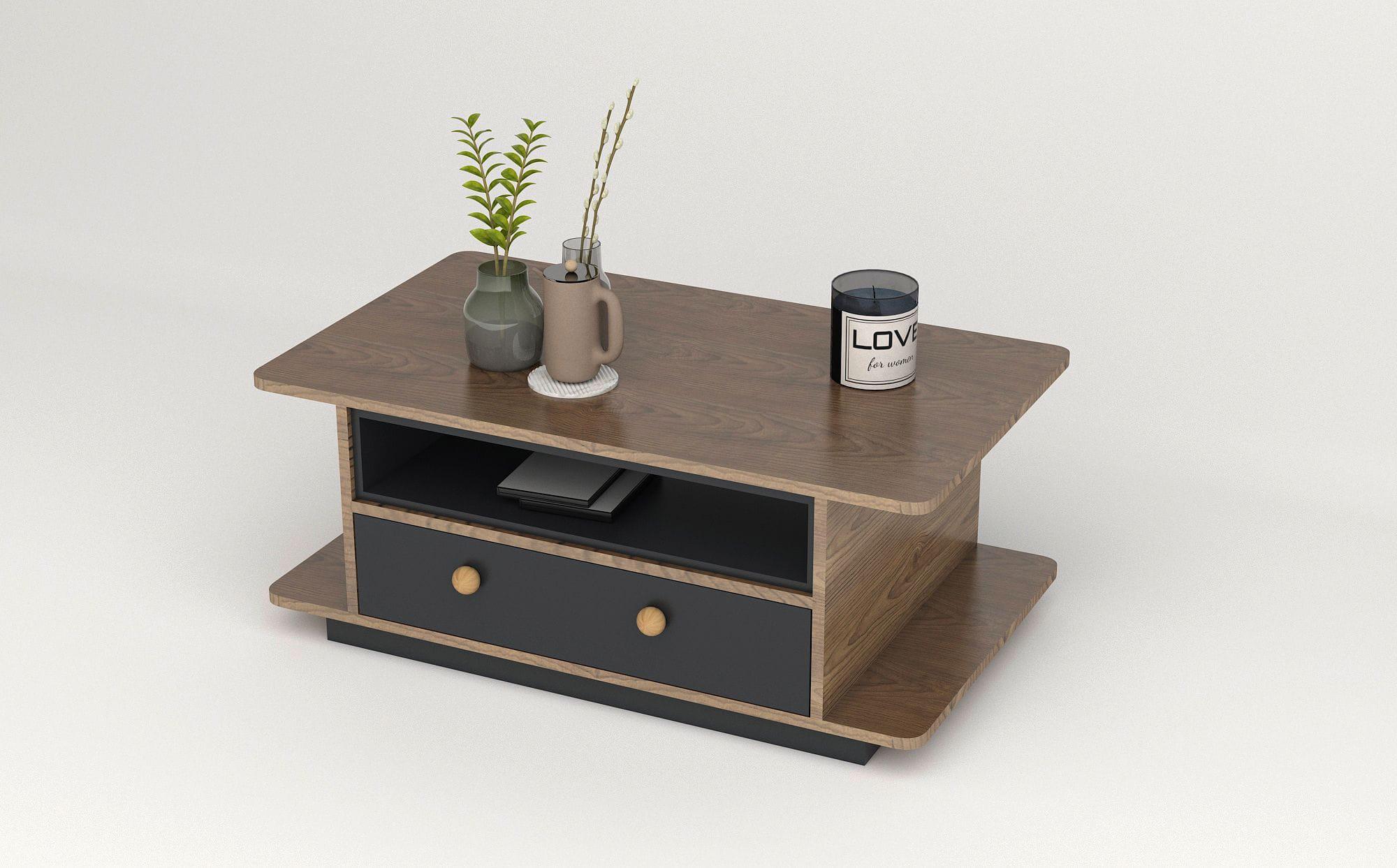 bàn trà gỗ BTG-36 kho nội thất sài gòn
