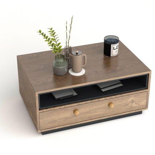 bàn trà gỗ btg-37 kho nội thất sài gòn