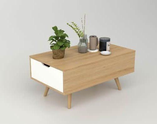 bàn trà gỗ btg-39 kho nội thất sài gòn