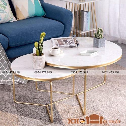 bàn sofa mặt đá bts-25