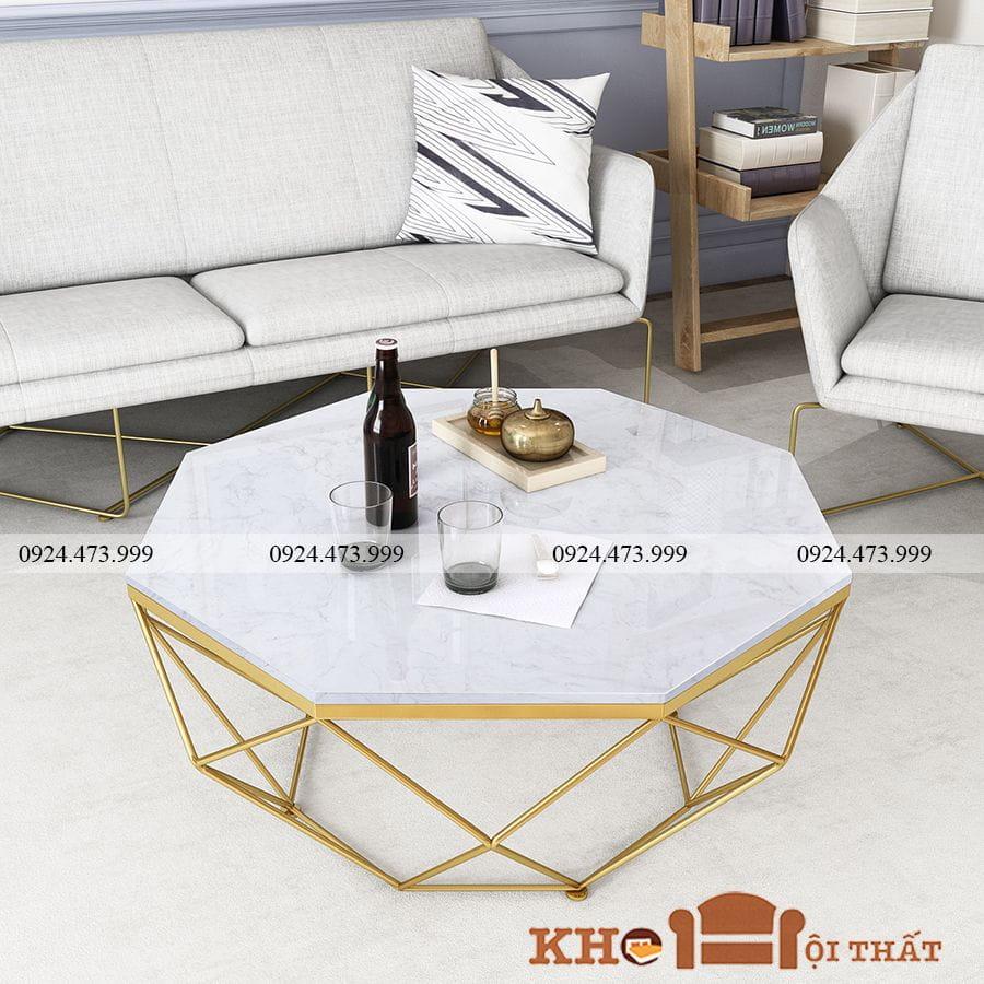 Bàn sofa kim cương mặt đá BTS-26